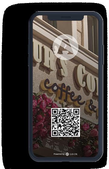 Digitális étlap az étteremhez - Arthur's Corner
