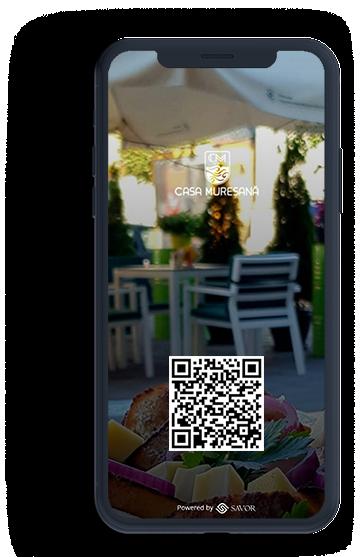 Menú digital para el restaurante - Casa Muresana