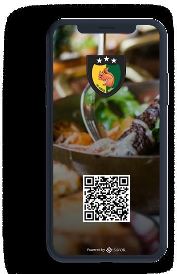 Digitális étlap az étteremhez - Hotel Aluniș