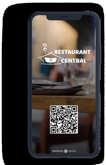 Digitális étlap az étteremhez - Central Szovata