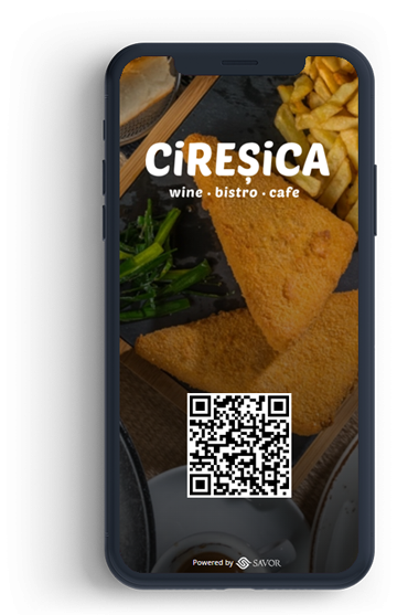Digitális étlap az étteremhez - Cireșica