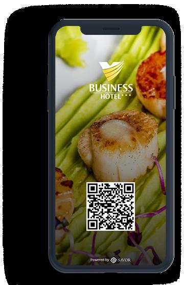 Digitális étlap az étteremhez - Hotel Business