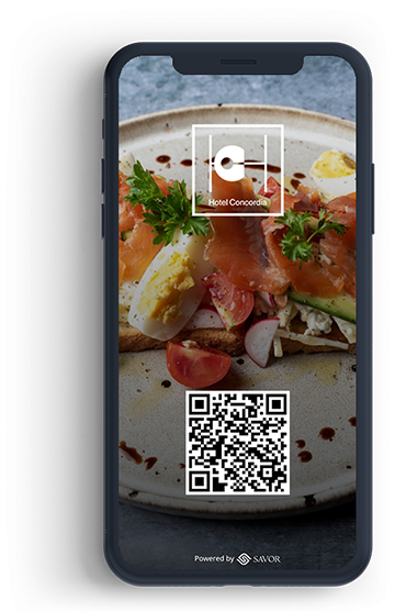 Digitális étlap az étteremhez - Hotel Concordia