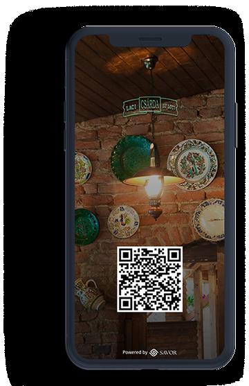 Menú digital para el restaurante - Laci Csarda